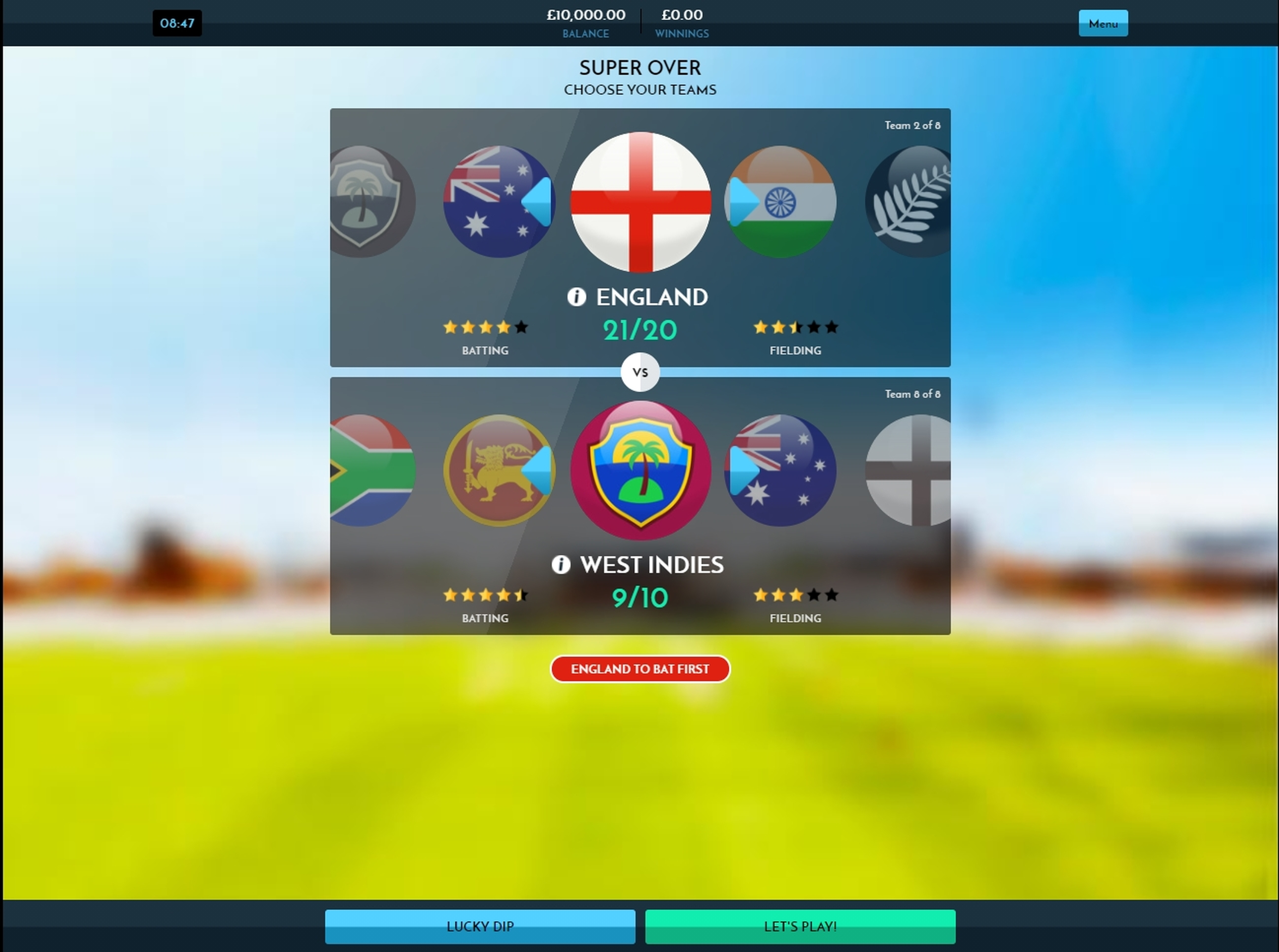 Play Rush Cricket Live Free Casino Slot Game by Inspired Gaming