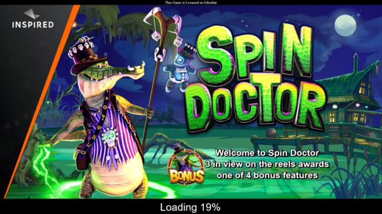 The Spin Doctor Online Slot Demo Game by Inspired Gaming