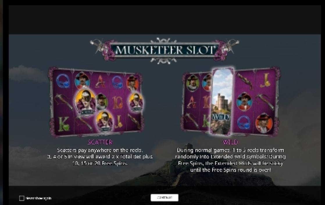 Play Musketeer Slot Free Casino Slot Game by iSoftBet