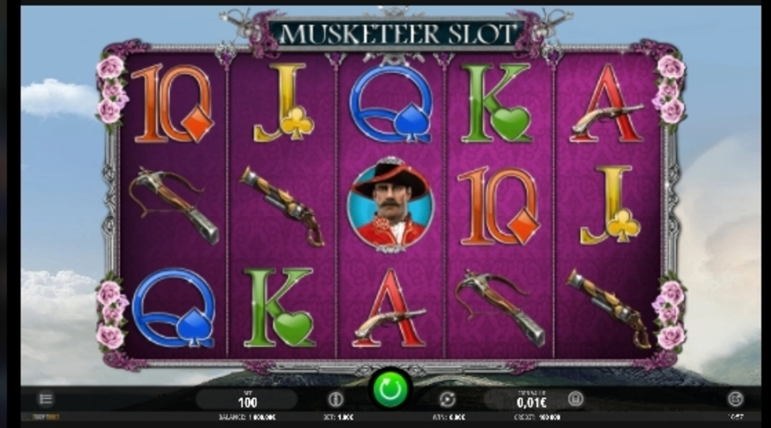 Reels in Musketeer Slot Slot Game by iSoftBet