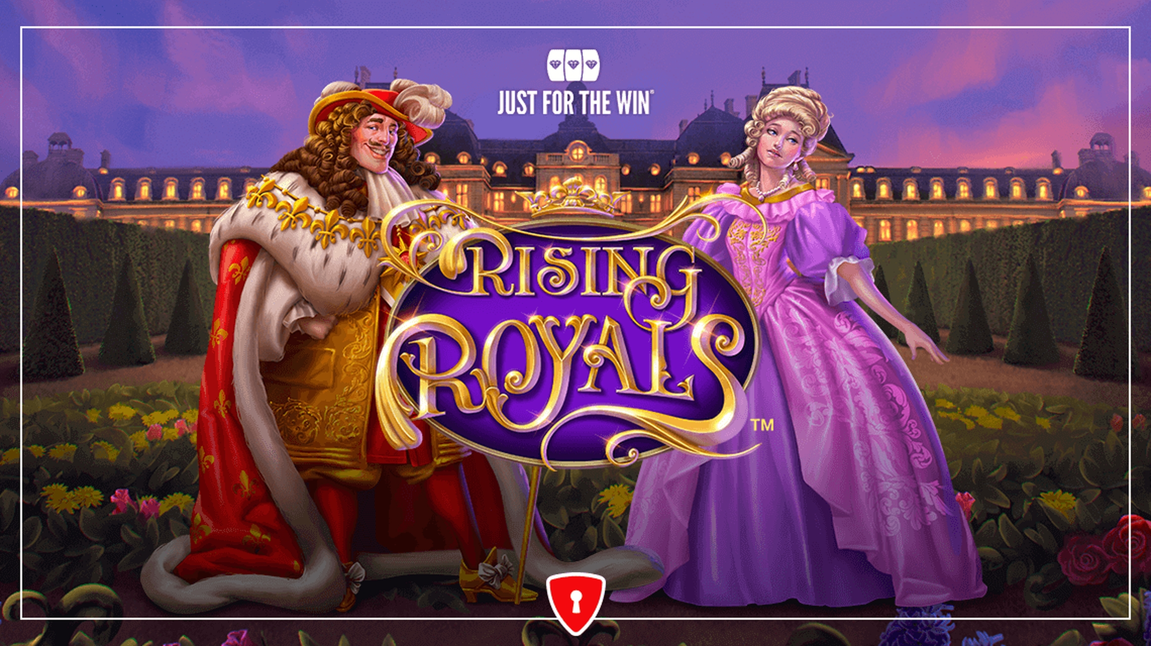 Win Money in Rising Royals Free Slot Game by Just For The Win