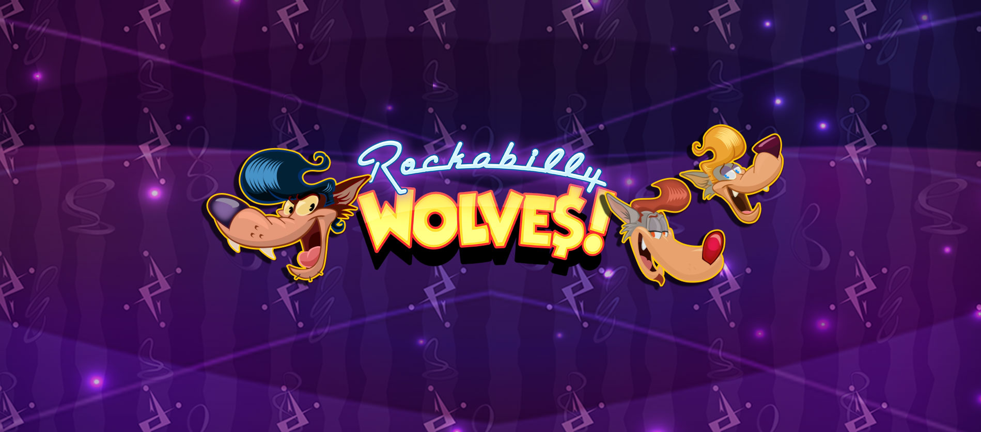 Win Money in Rockabilly Wolves Free Slot Game by Just For The Win