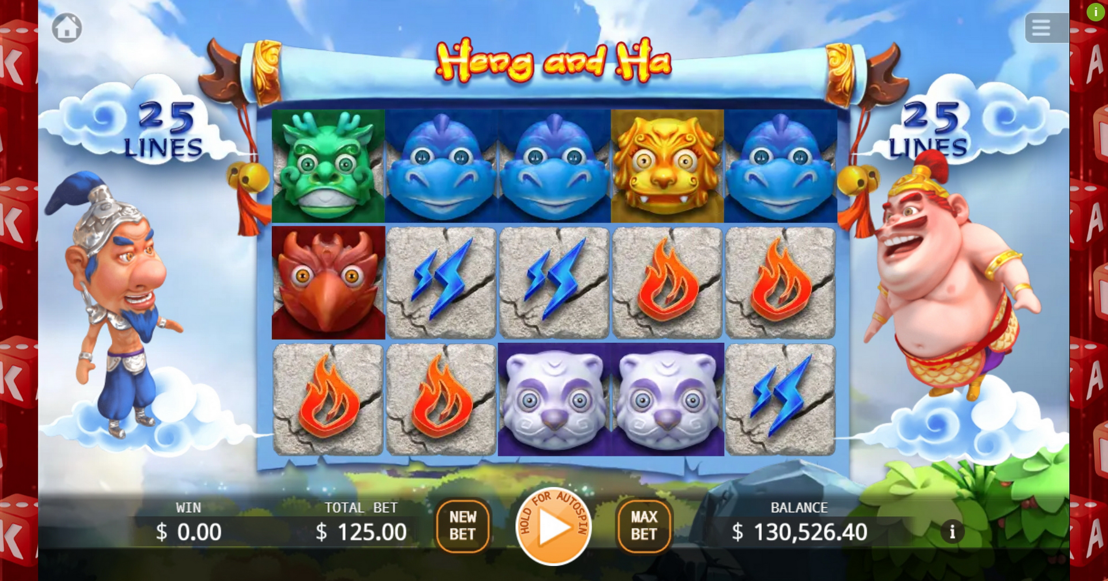 Play Heng and Ha Free Casino Slot Game by KA Gaming