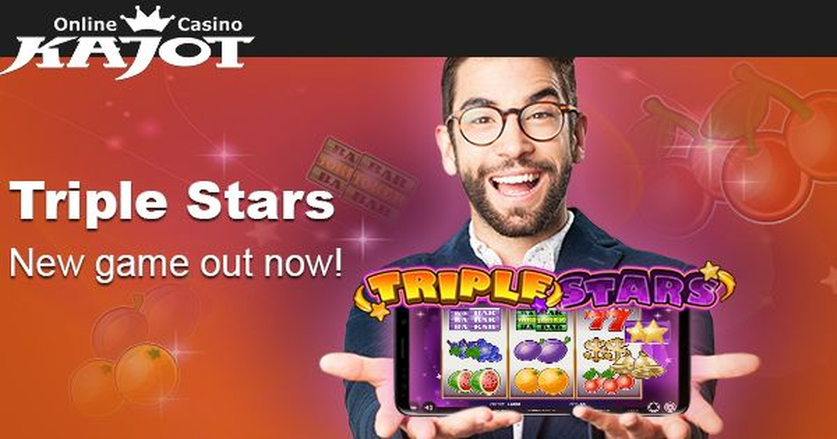 The Triple Stars Online Slot Demo Game by Kajot