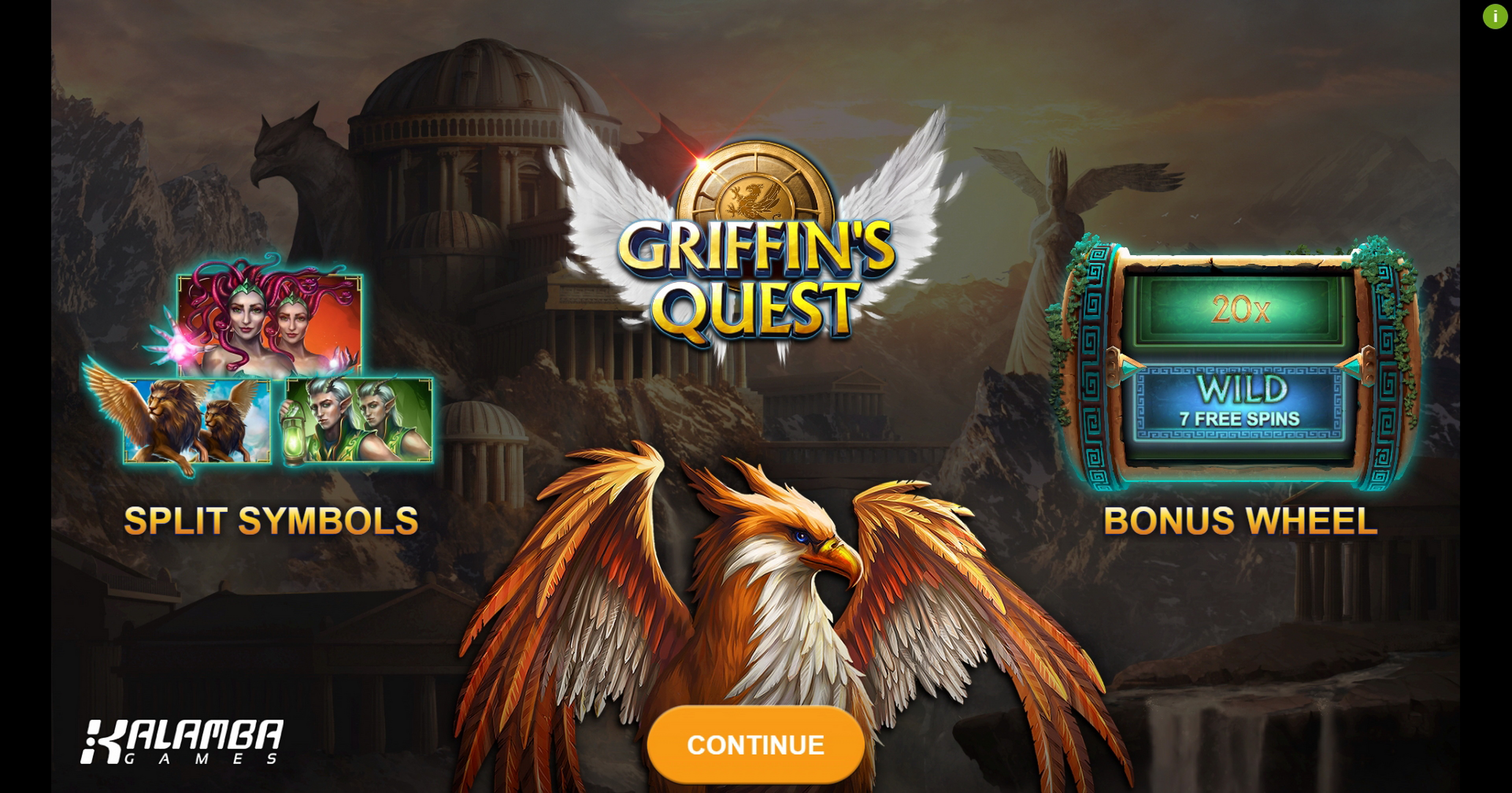 Play Griffins Quest Free Casino Slot Game by Kalamba Games