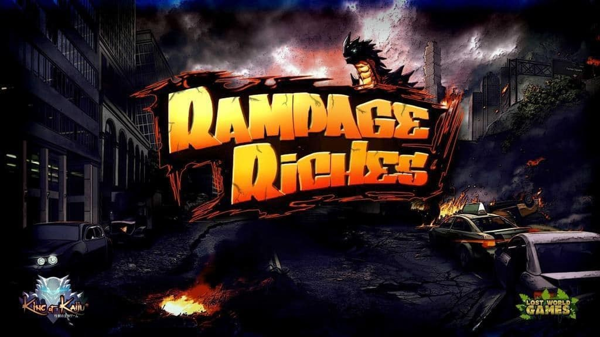 The King of Kaiju: Rampage Riches Online Slot Demo Game by Lost World Games
