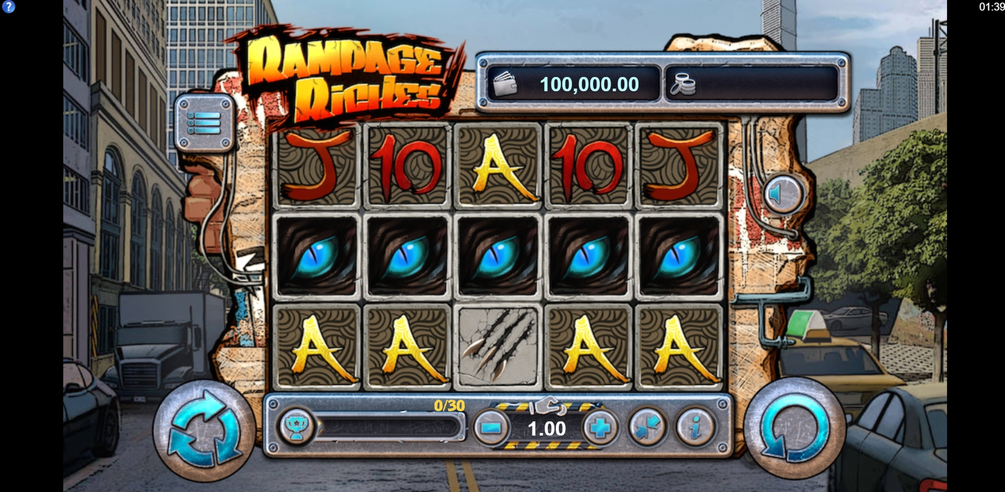 Reels in King of Kaiju: Rampage Riches Slot Game by Lost World Games