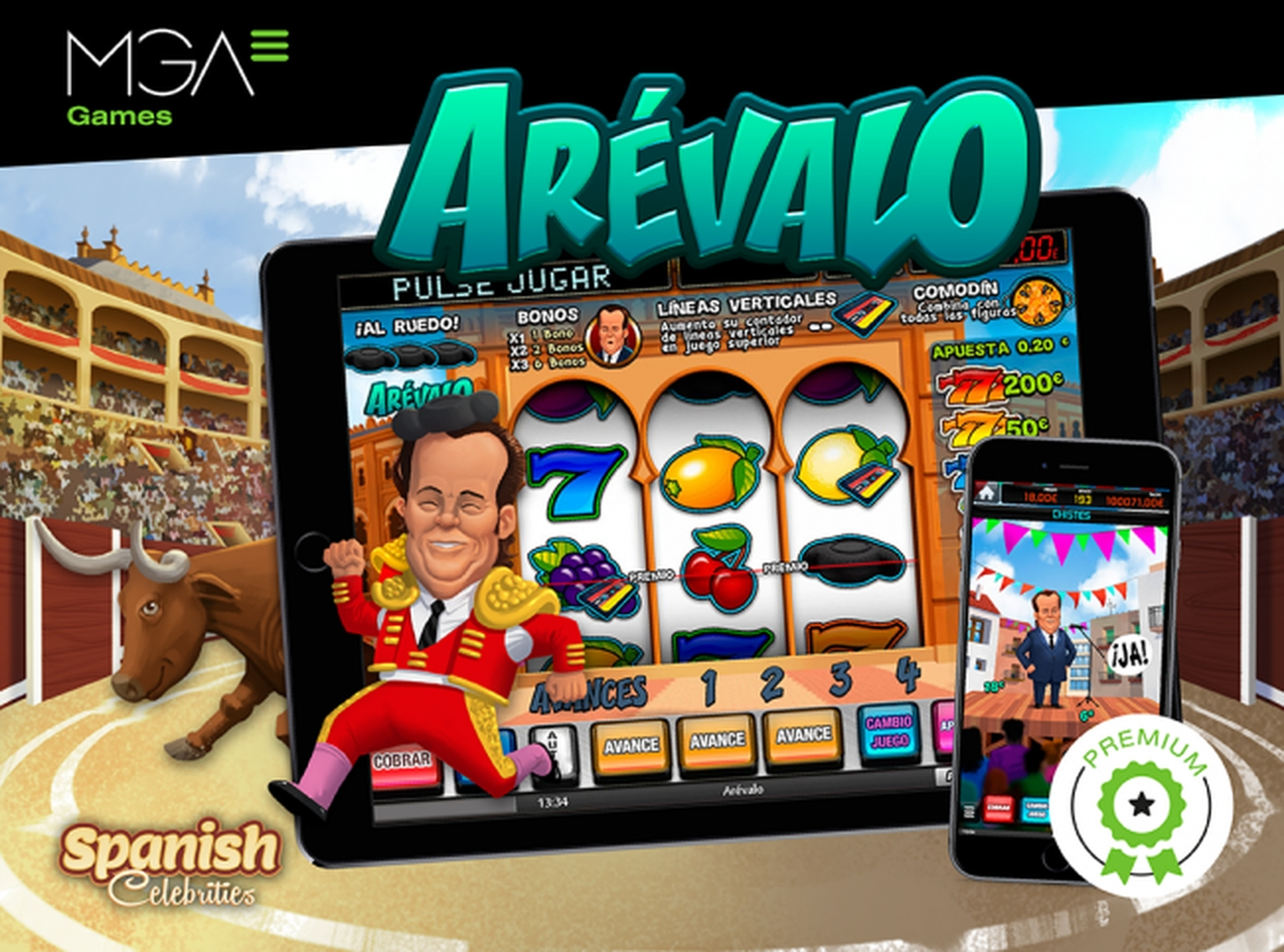 The Arevalo Online Slot Demo Game by MGA