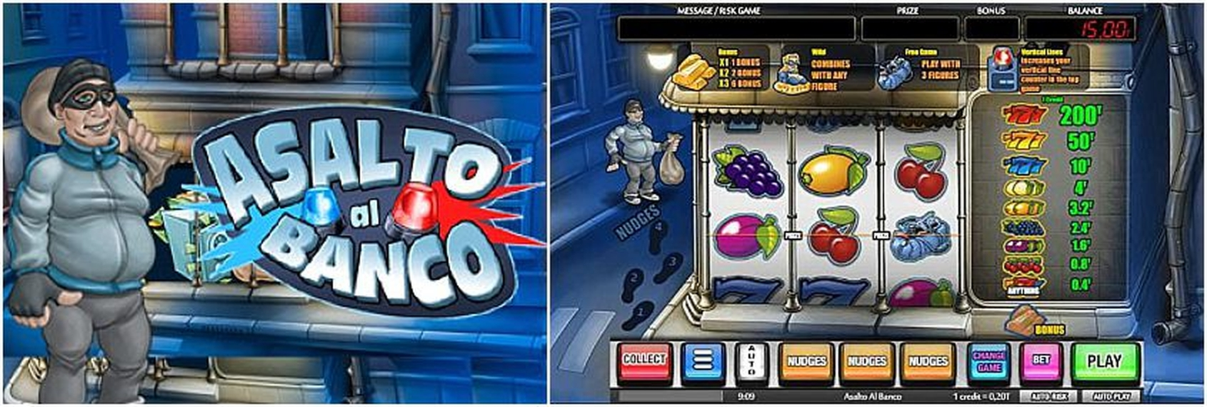 The Asalto al banco Online Slot Demo Game by MGA
