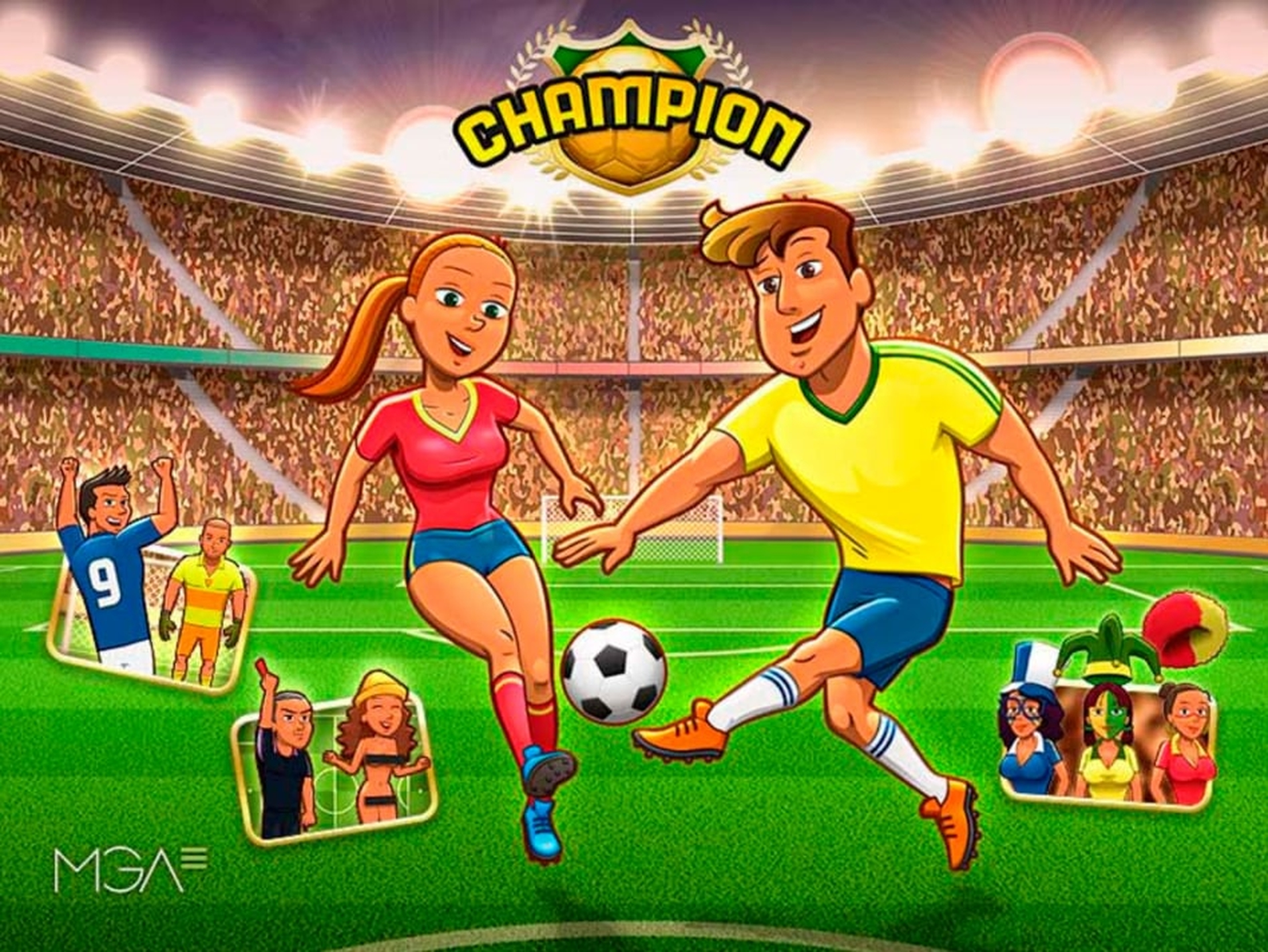 The Champion Online Slot Demo Game by MGA
