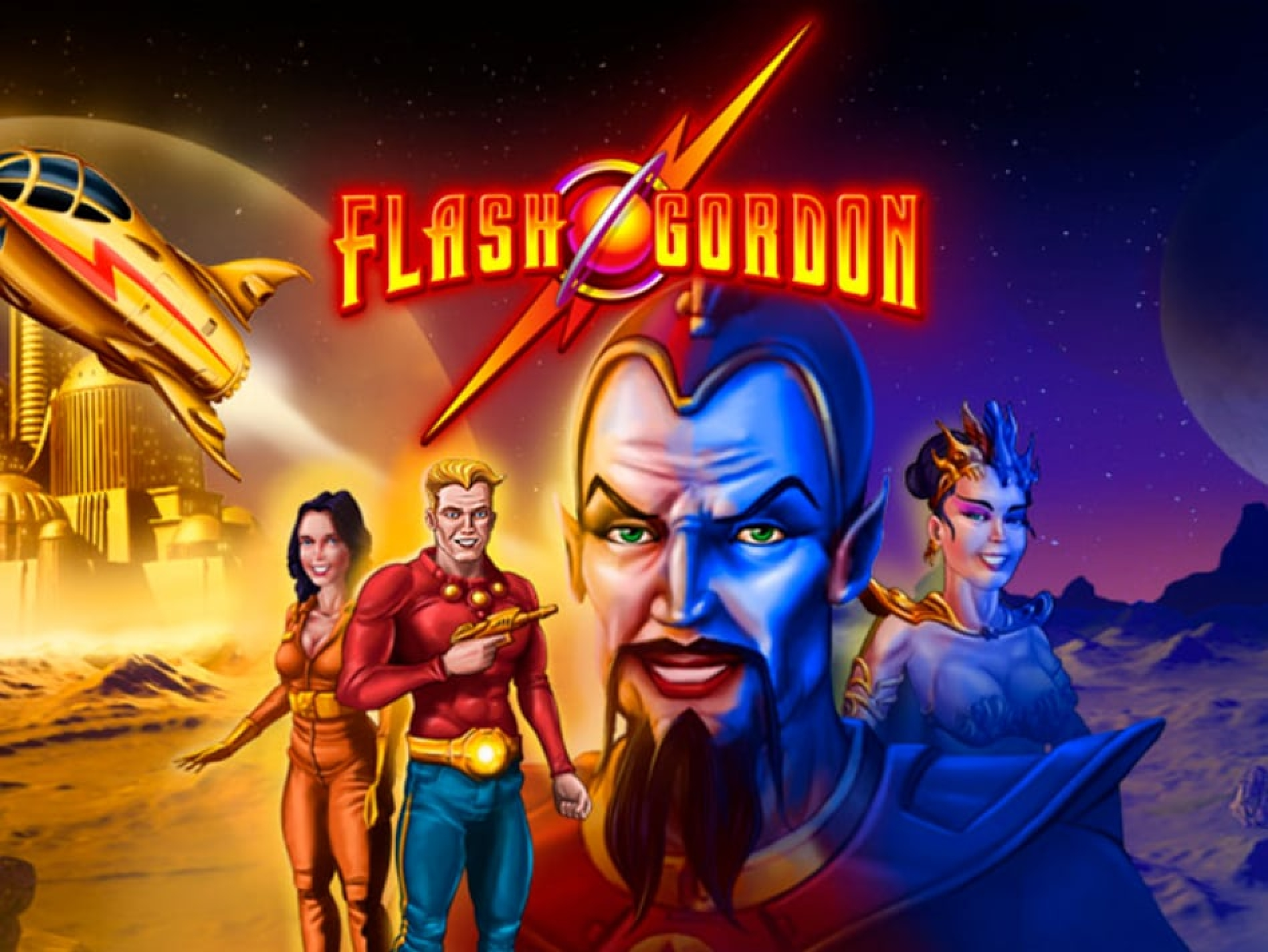 The Flash Gordon Online Slot Demo Game by MGA