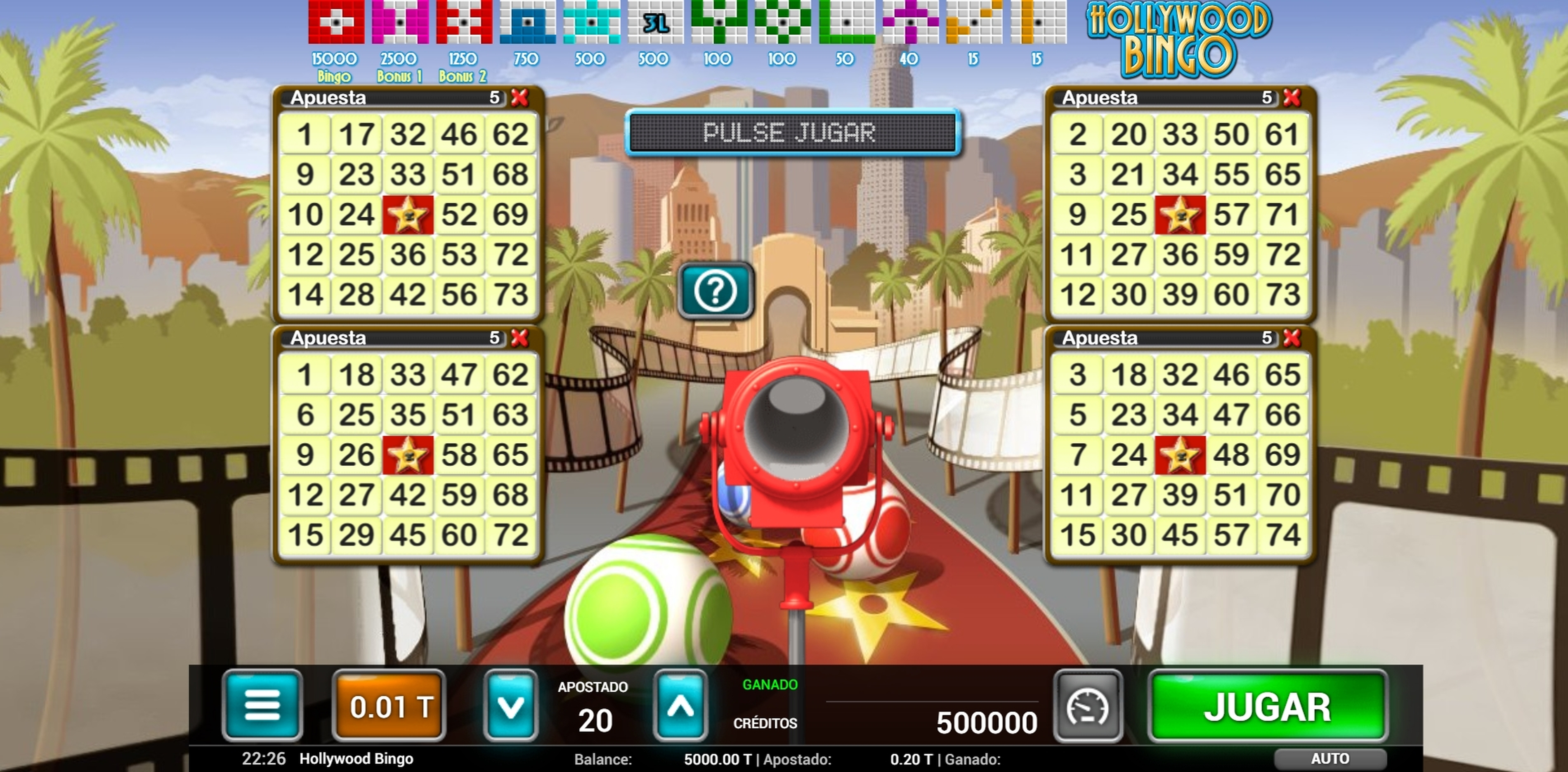 Reels in Hollywood Bingo Slot Game by MGA