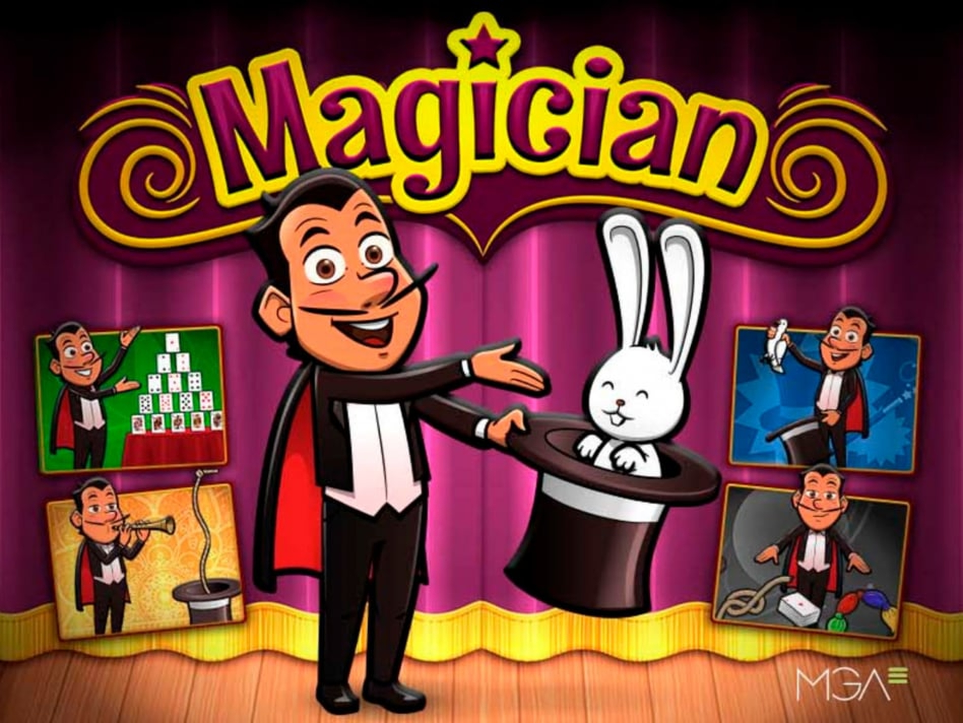 The Magician Bingo Online Slot Demo Game by MGA