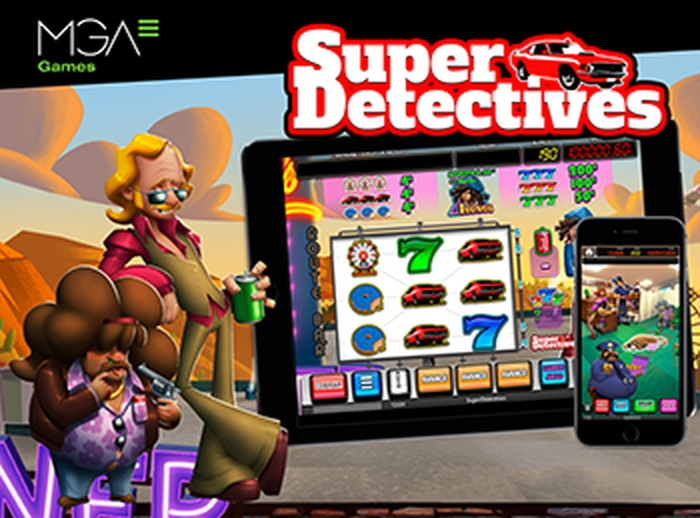 The Super Detectives Online Slot Demo Game by MGA