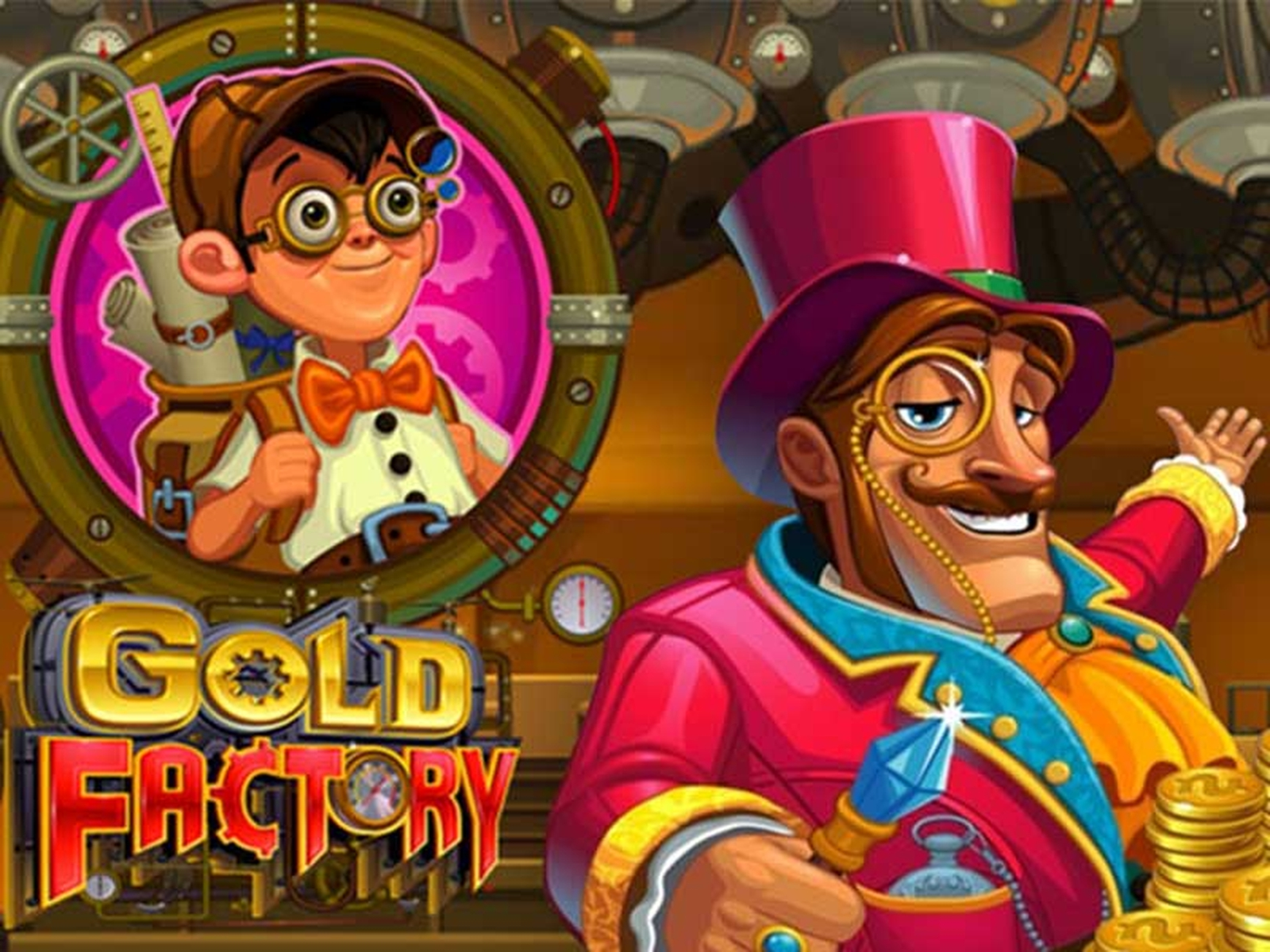 The Gold Factory Online Slot Demo Game by Microgaming