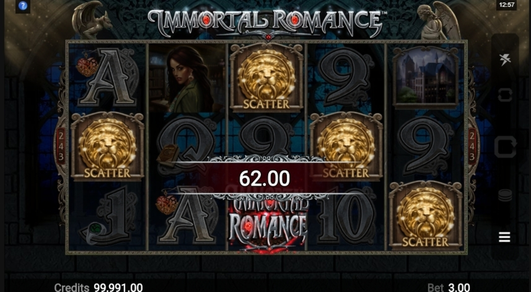 Win Money in Immortal Romance Free Slot Game by Microgaming