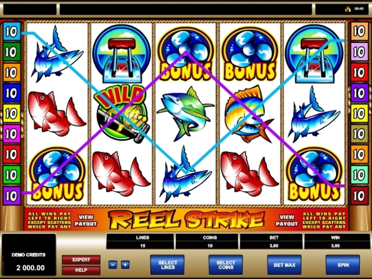 Win Money in Reel Strike Free Slot Game by Microgaming
