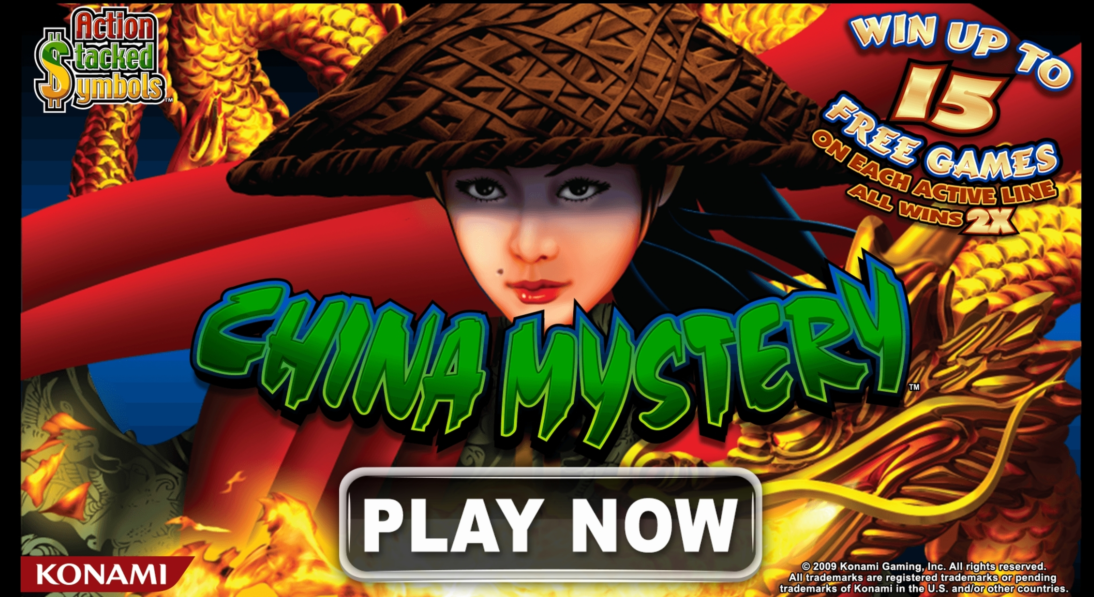 Play China Mystery Free Casino Slot Game by Nektan