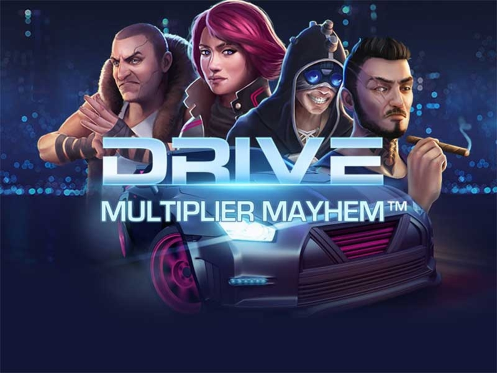 The Drive Multiplier Mayhem Online Slot Demo Game by NetEnt