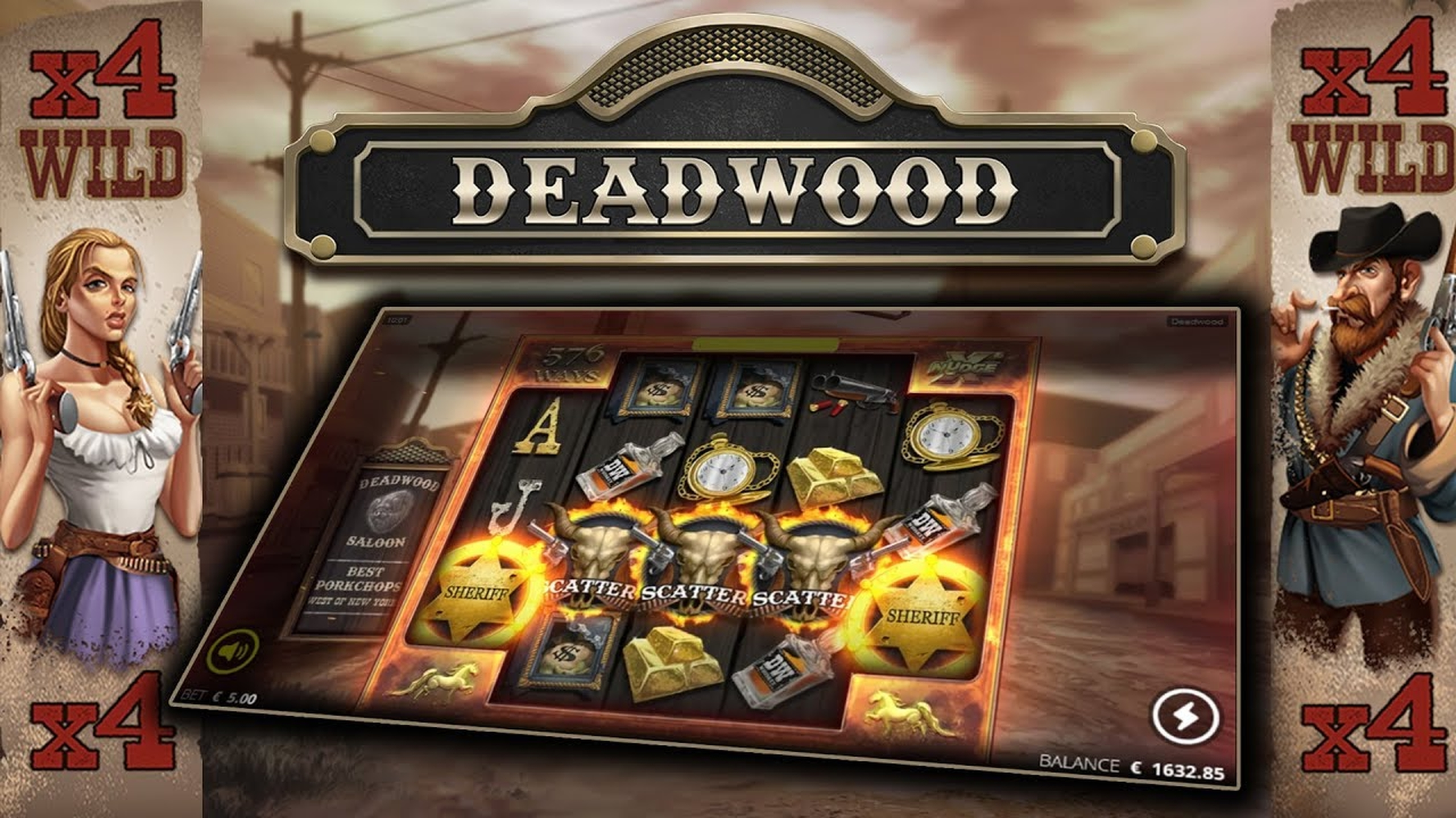 The Deadwood Online Slot Demo Game by Nolimit City