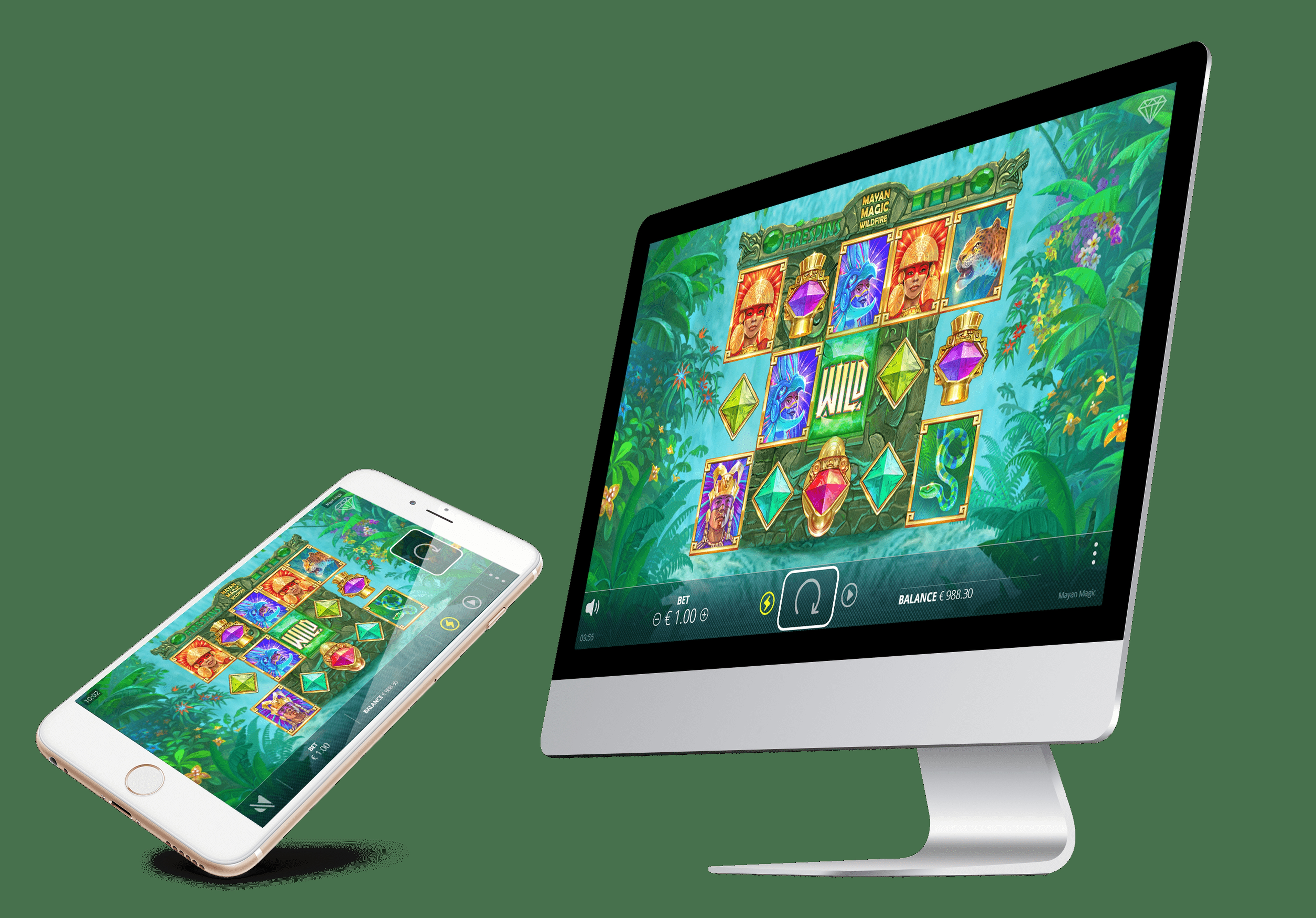 The Mayan Magic Wildfire Online Slot Demo Game by Nolimit City