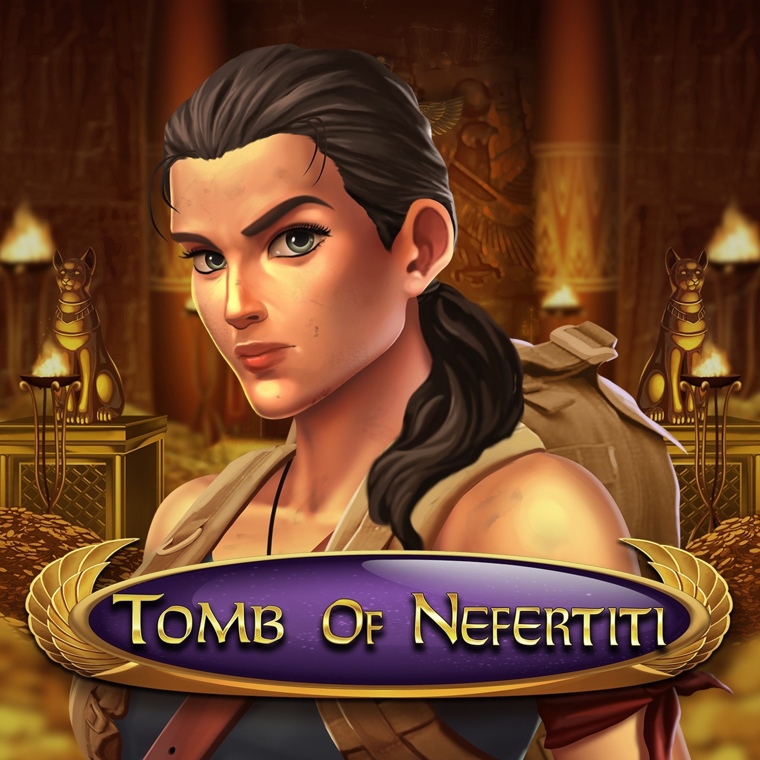The Tomb Of Nefertiti Online Slot Demo Game by Nolimit City