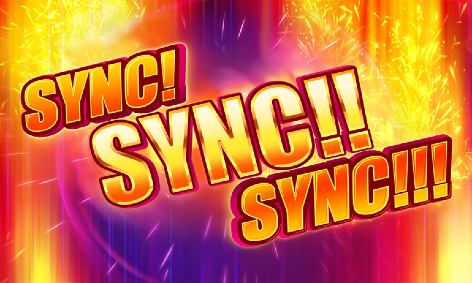 The Sync! Sync!! Sync!!! Online Slot Demo Game by Novomatic