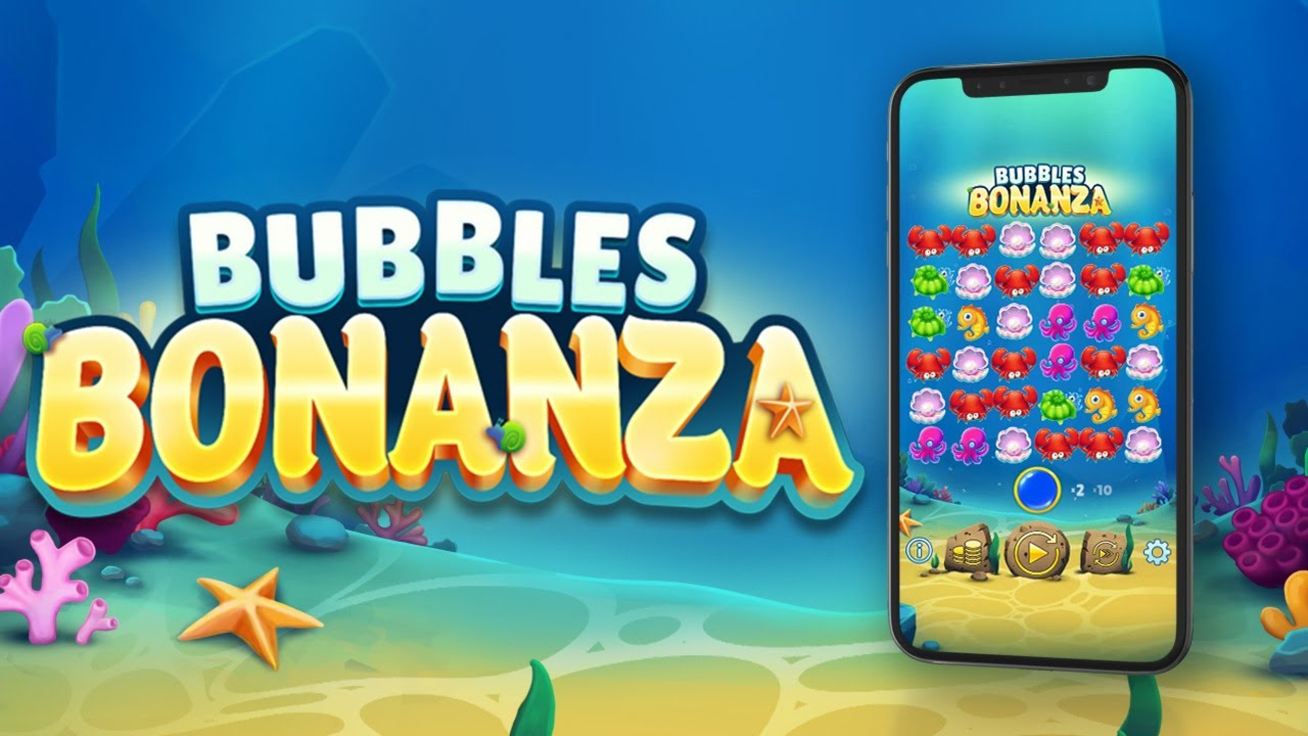 The Bubbles Bonanza Online Slot Demo Game by OneTouch Games