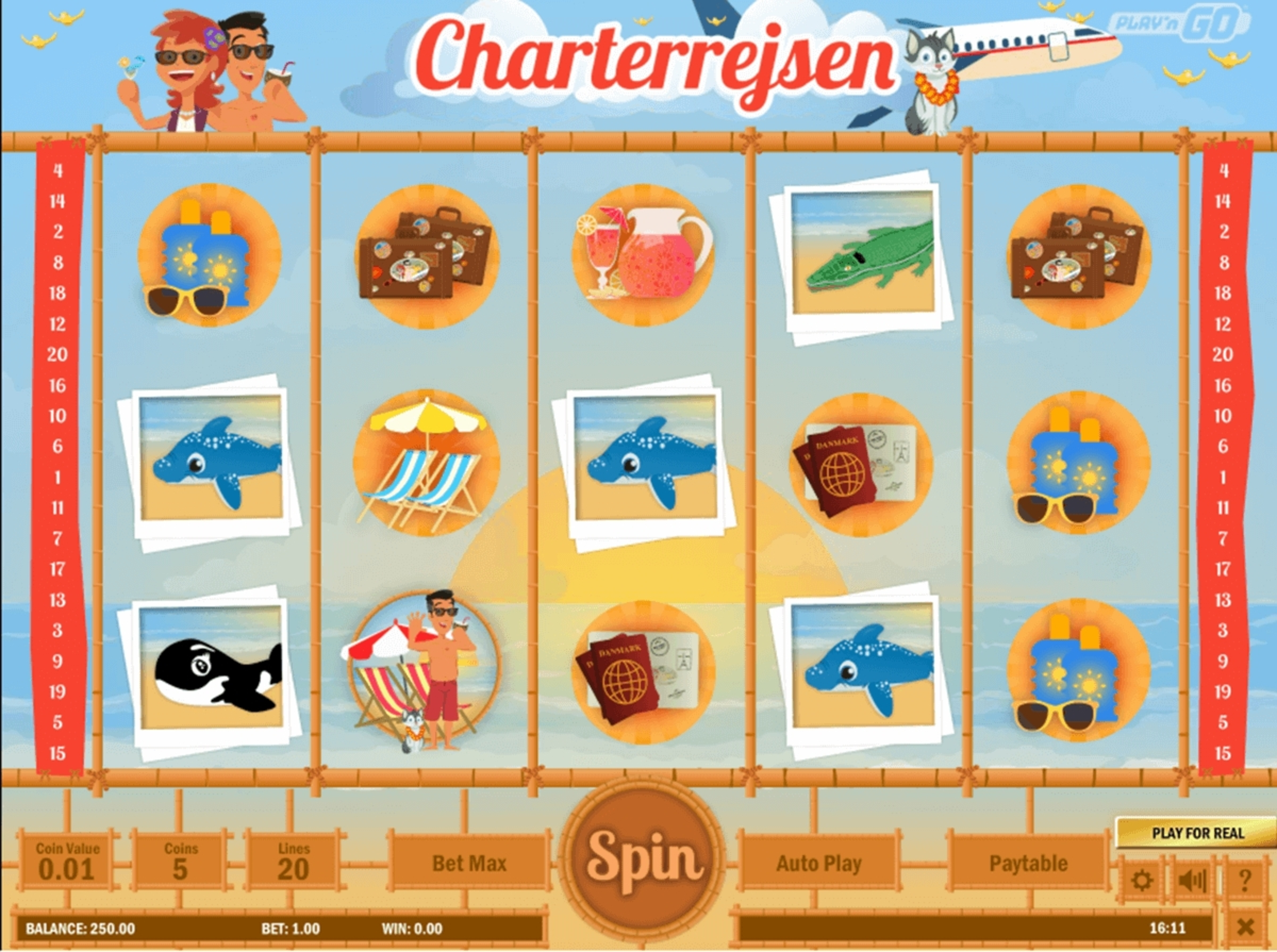 The Charterrejsen Online Slot Demo Game by Playn GO