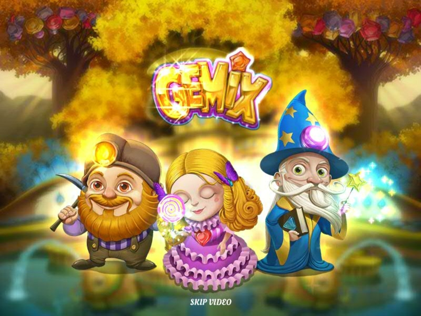 The Gemix Online Slot Demo Game by Playn GO