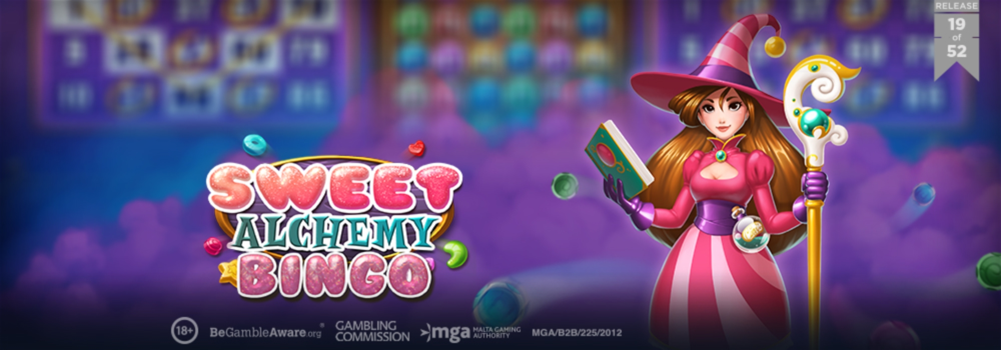 The Sweet Alchemy Bingo Online Slot Demo Game by Playn GO