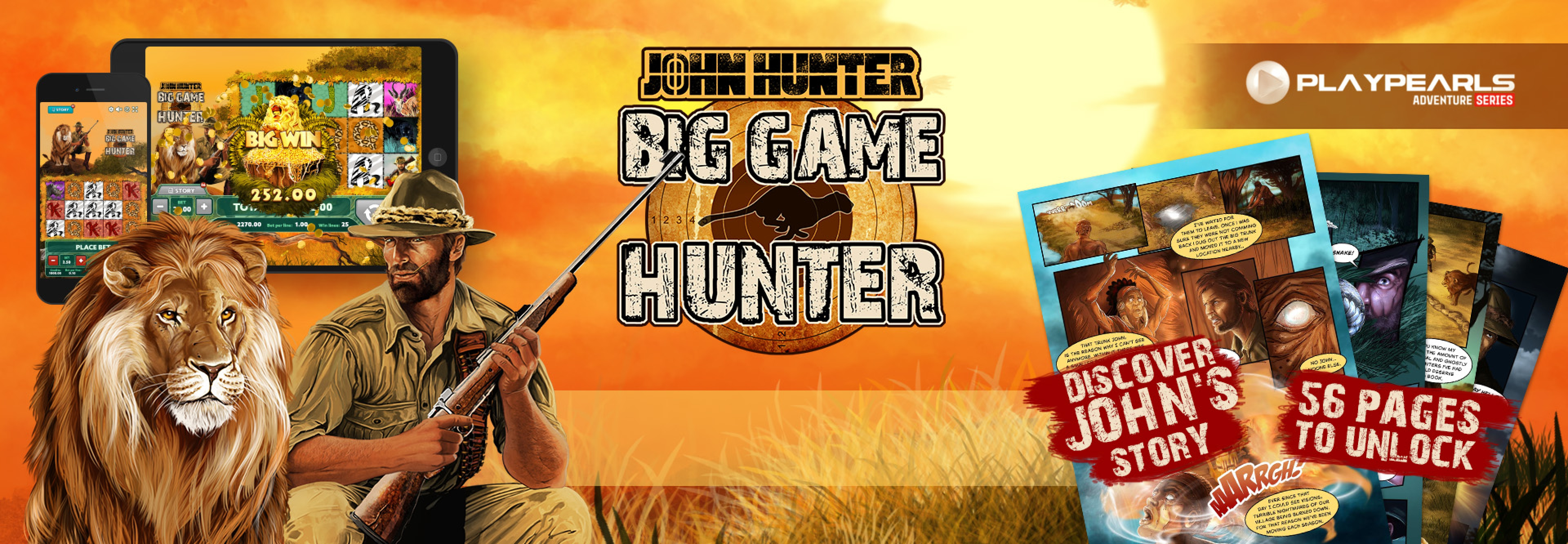 The Big Game Hunter Online Slot Demo Game by PlayPearls