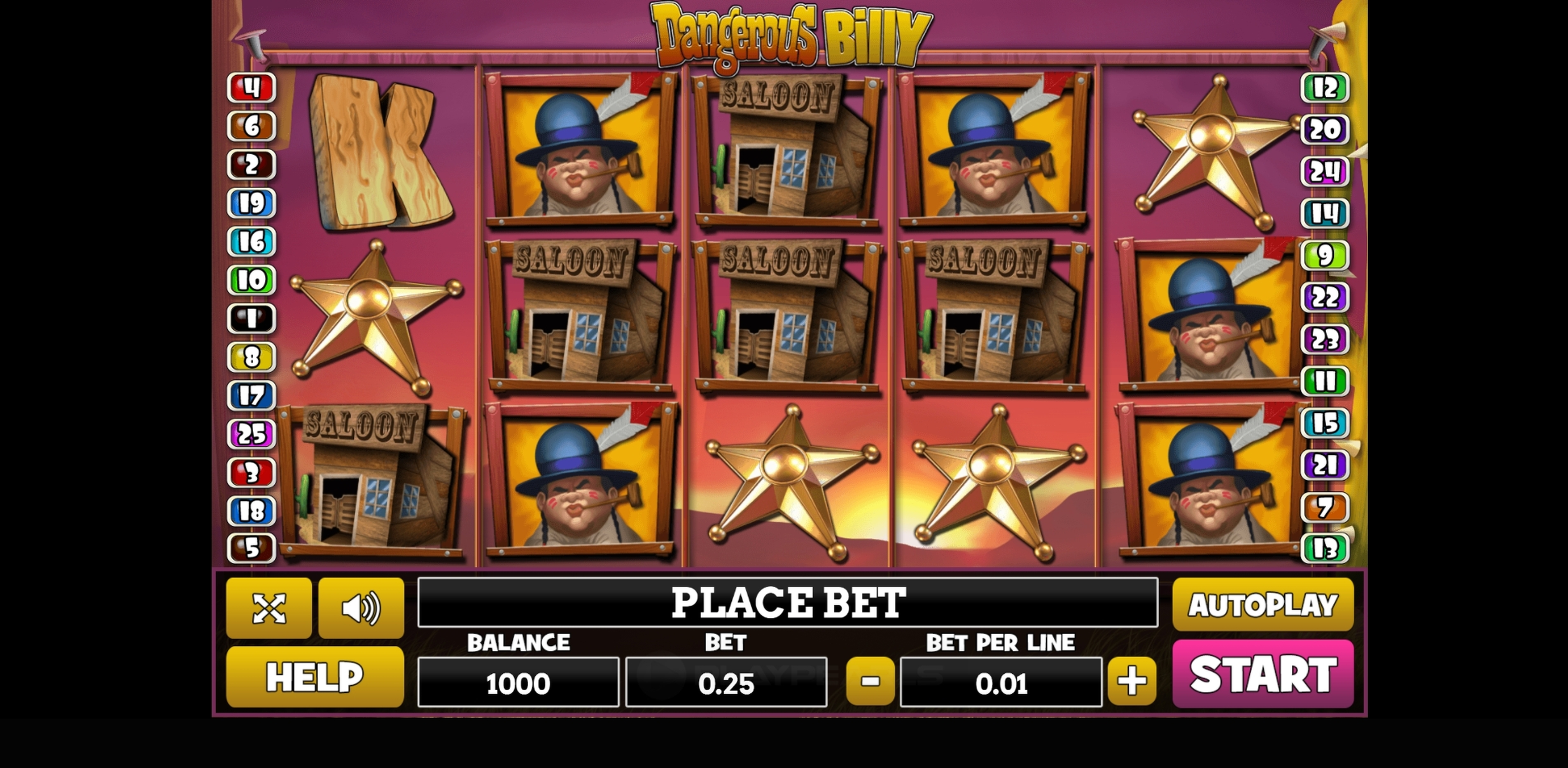 Reels in Dangerous Billy Slot Game by PlayPearls