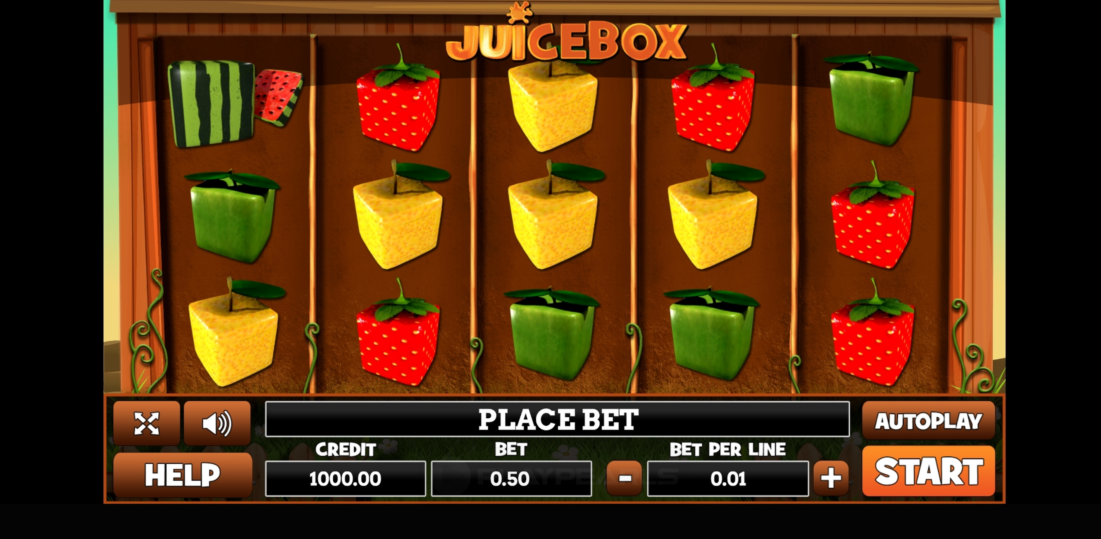Reels in Juicy Box Slot Game by PlayPearls