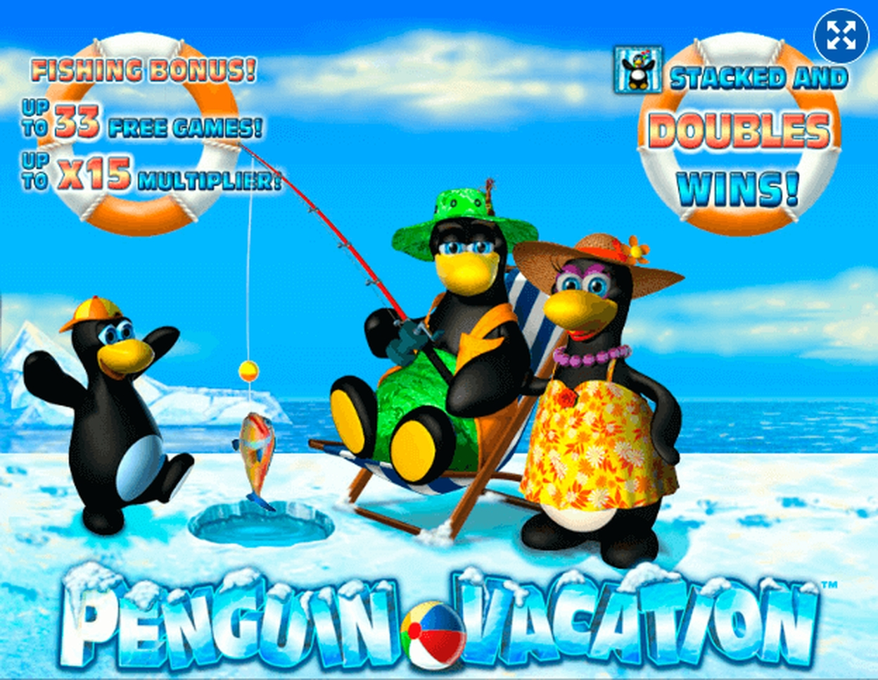 The Penguin Vacation (PlayPearls) Online Slot Demo Game by PlayPearls