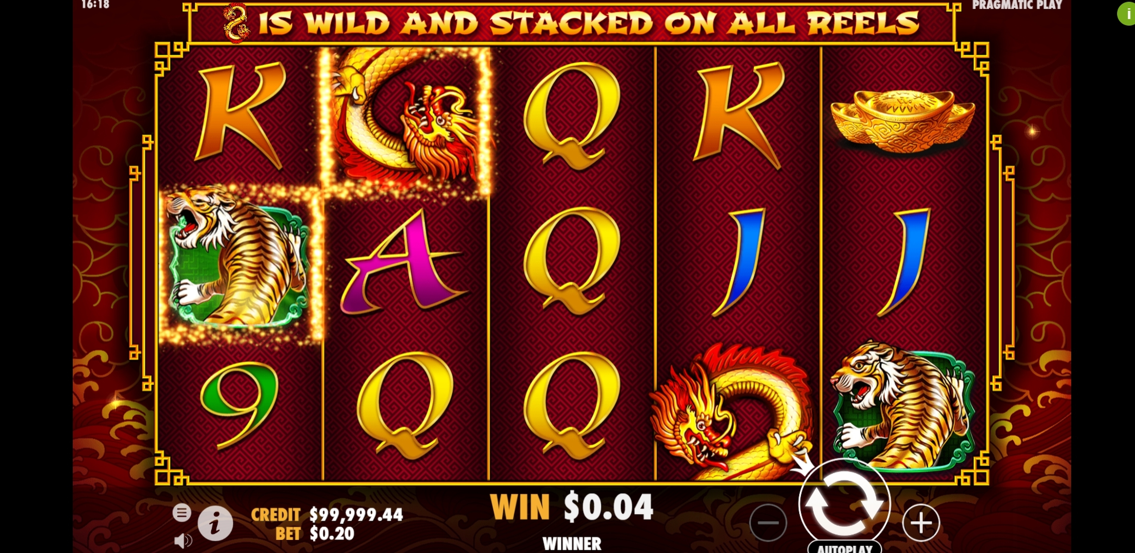 Win Money in 8 Dragons Free Slot Game by Pragmatic Play