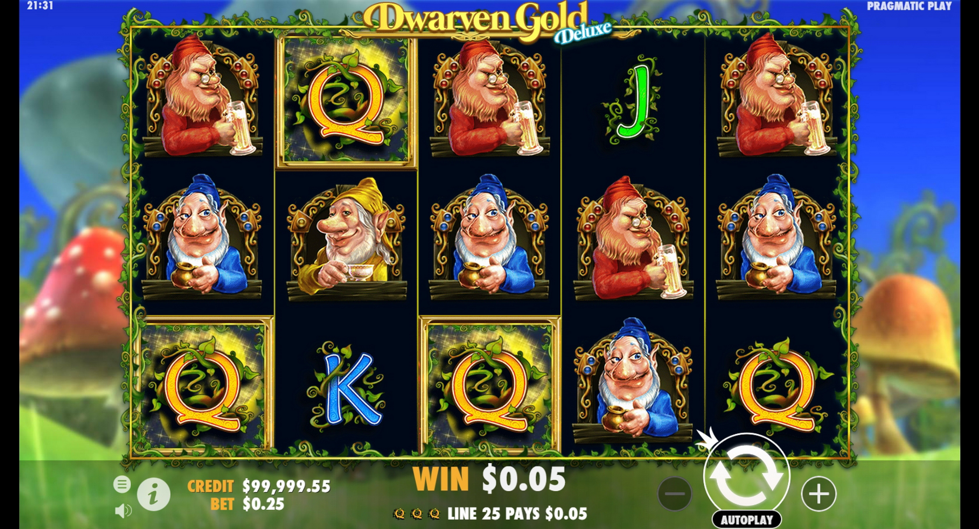 Win Money in Dwarven Gold Deluxe Free Slot Game by Pragmatic Play