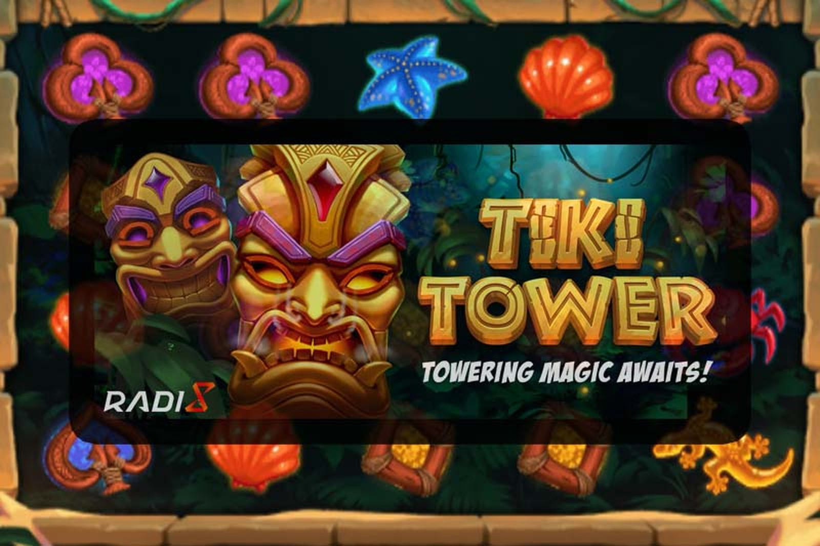 The Tiki Tower Online Slot Demo Game by Radi8