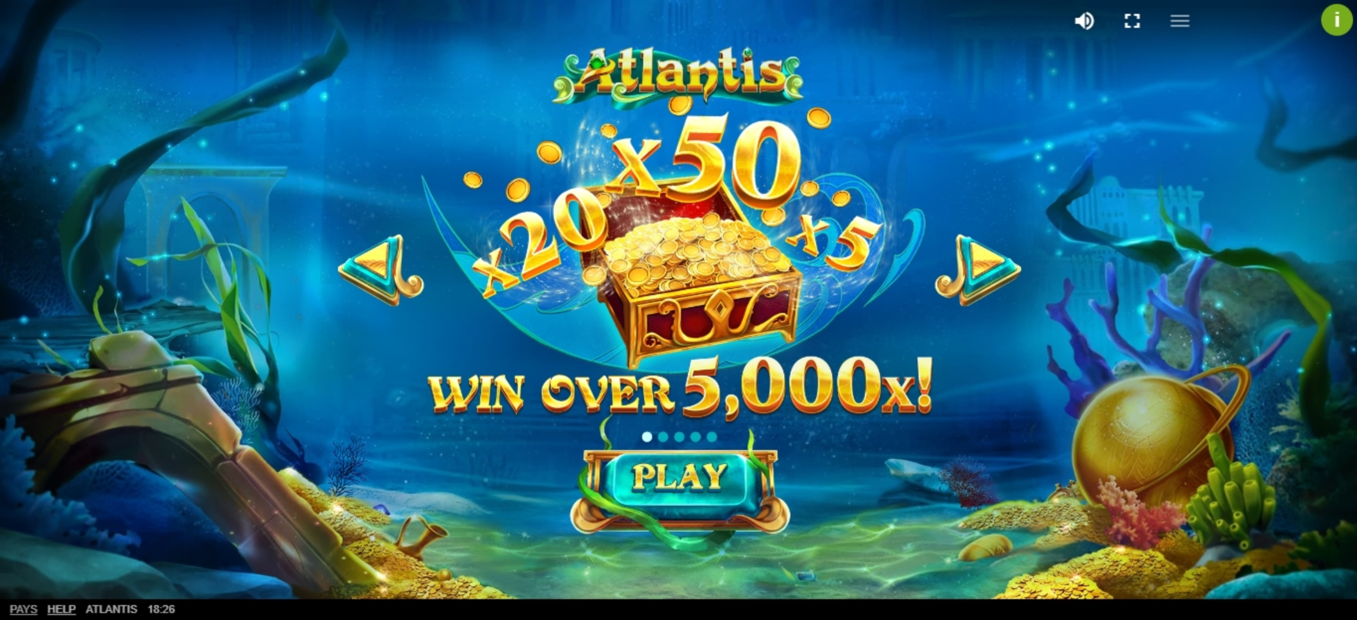 Play Atlantis (Red Tiger) Free Casino Slot Game by Red Tiger