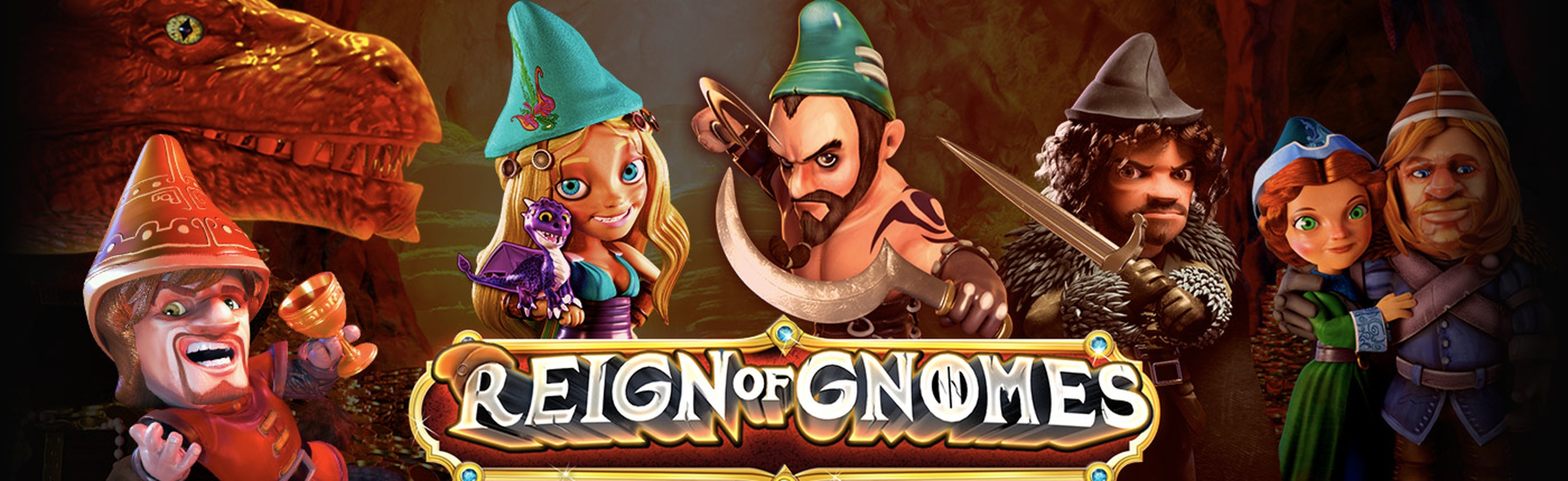 The Reign of Gnomes Online Slot Demo Game by Revolver Gaming