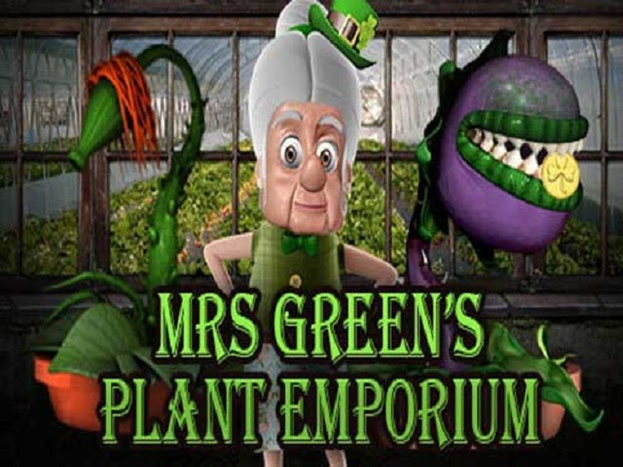 The Mrs Green's Plant Emporium Online Slot Demo Game by saucify