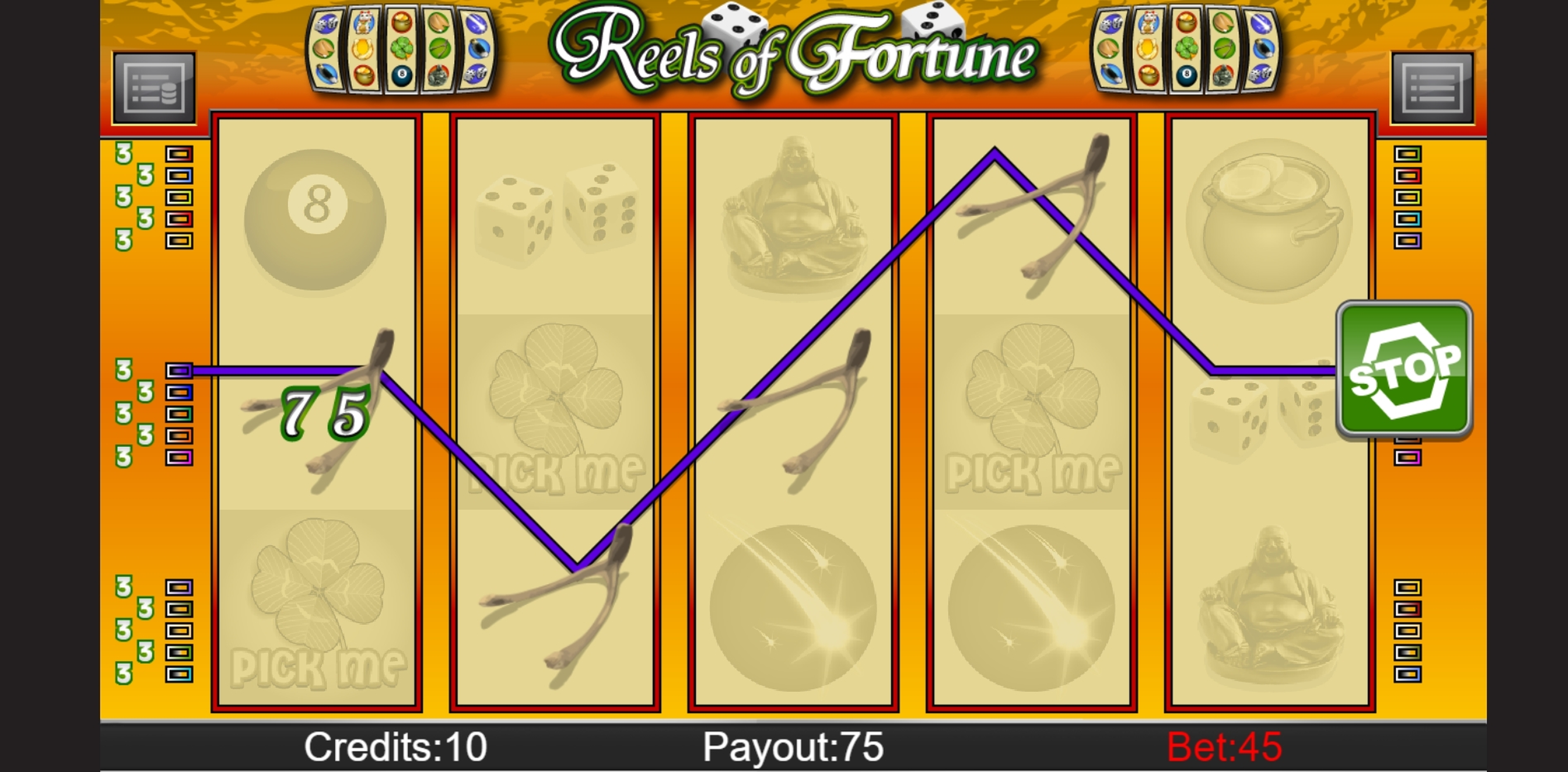Win Money in Reels of Fortune Free Slot Game by PAF
