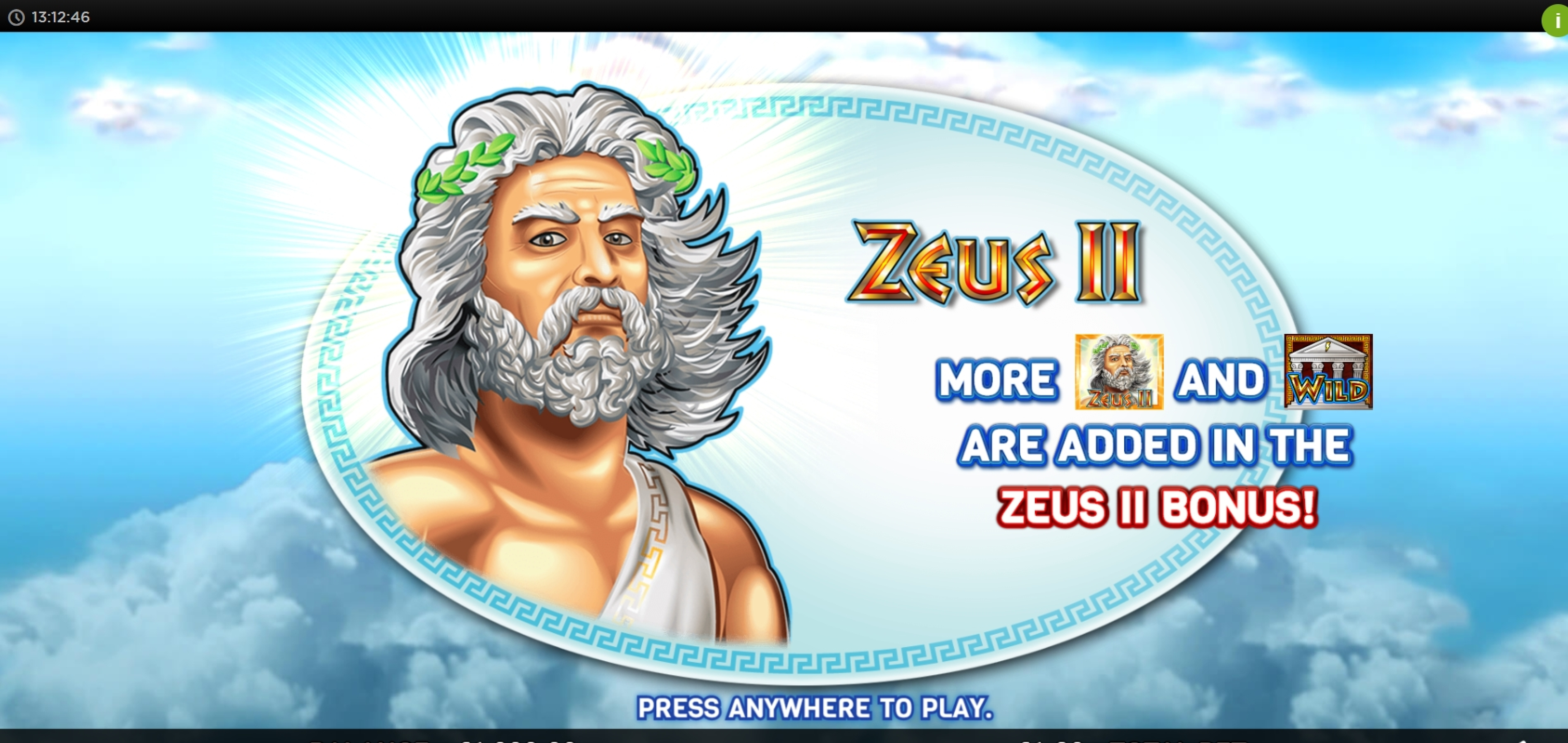 Play Zeus 2 (WMS) Free Casino Slot Game by WMS