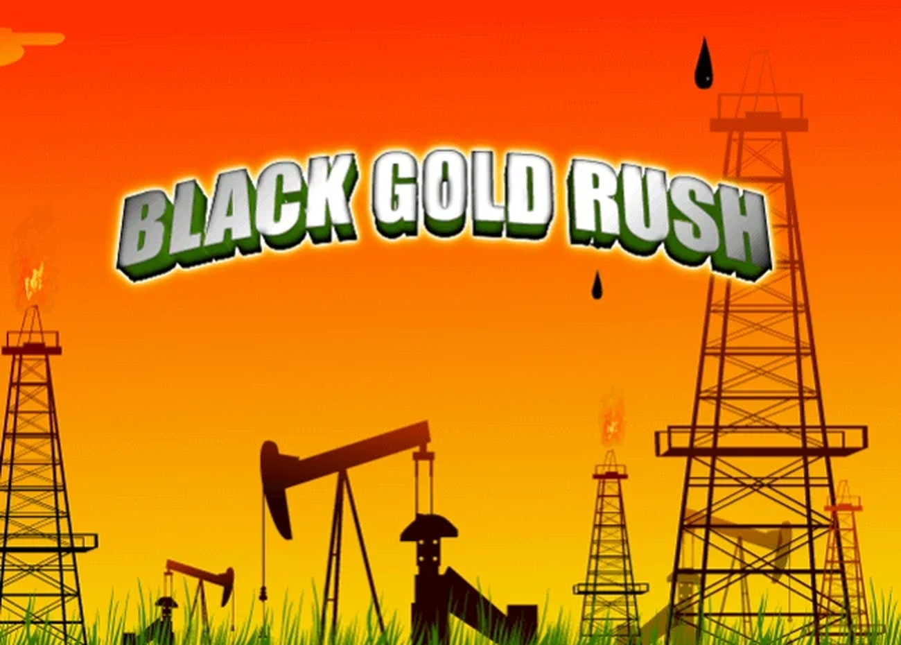 The Black Gold Rush Online Slot Demo Game by SkillOnNet