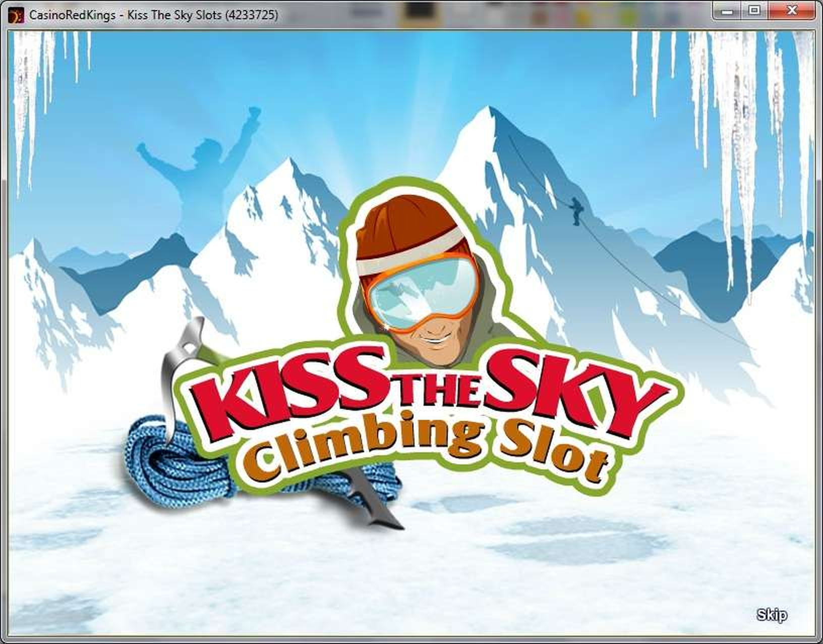The Kiss The Sky Climbing Slot Online Slot Demo Game by SkillOnNet