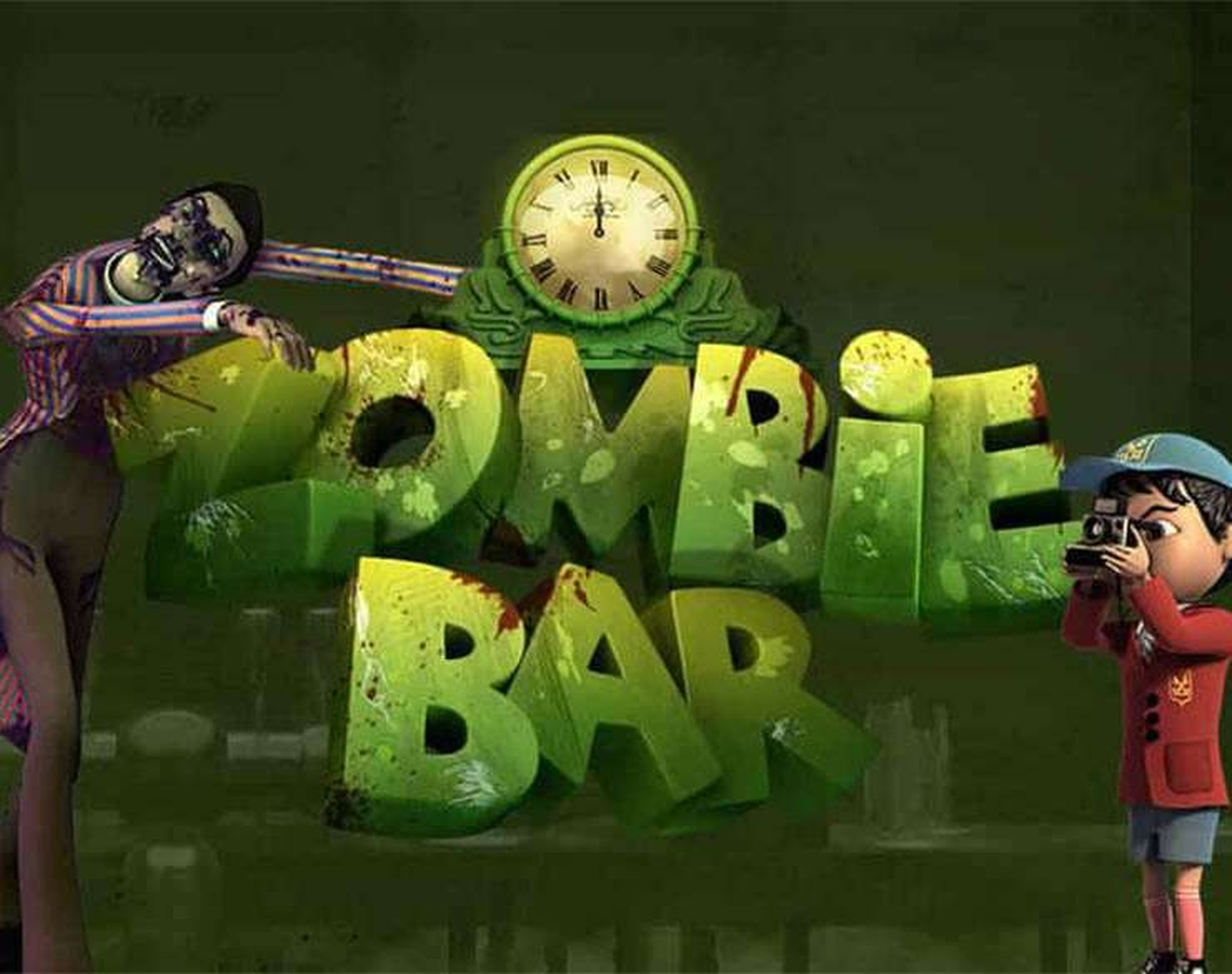 The Zombie Bar Slots Online Slot Demo Game by SkillOnNet