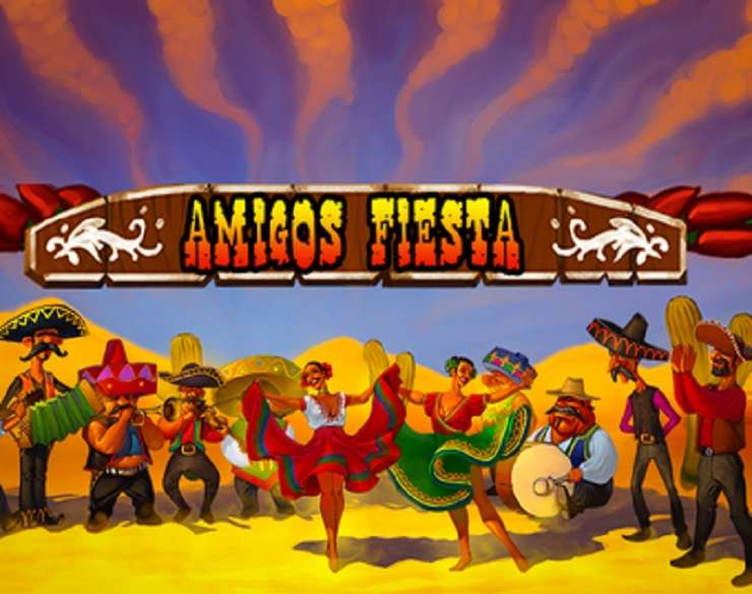The Amigos Fiesta Online Slot Demo Game by Spinomenal
