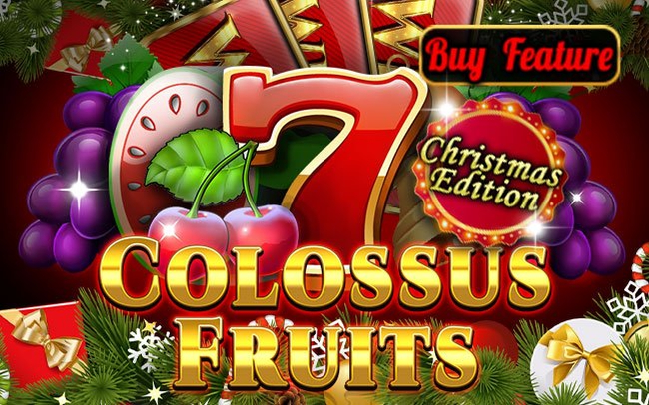 The Colossus Fruits Christmas Edition Online Slot Demo Game by Spinomenal
