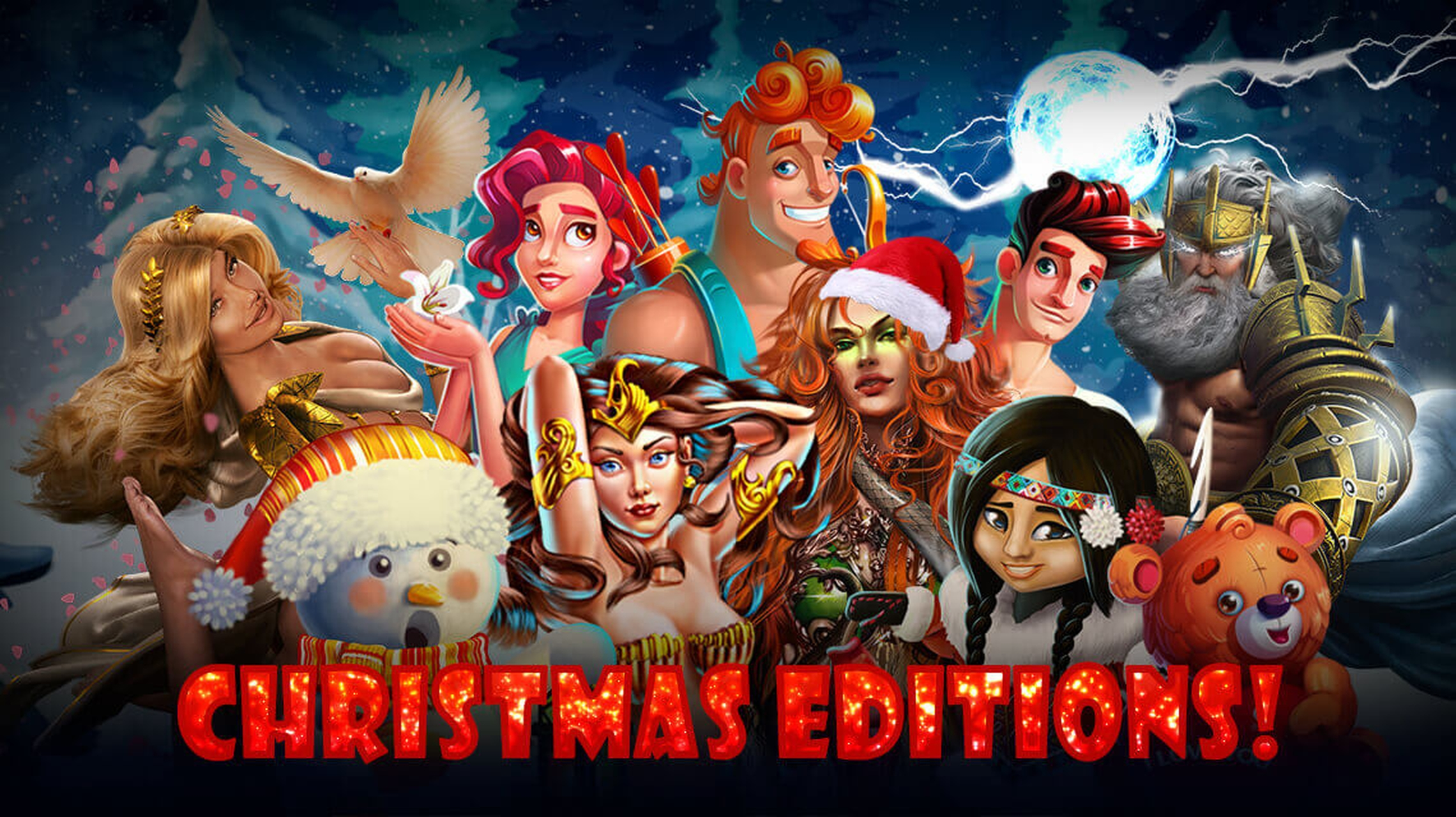 The Demi Gods II Christmas Edition Online Slot Demo Game by Spinomenal