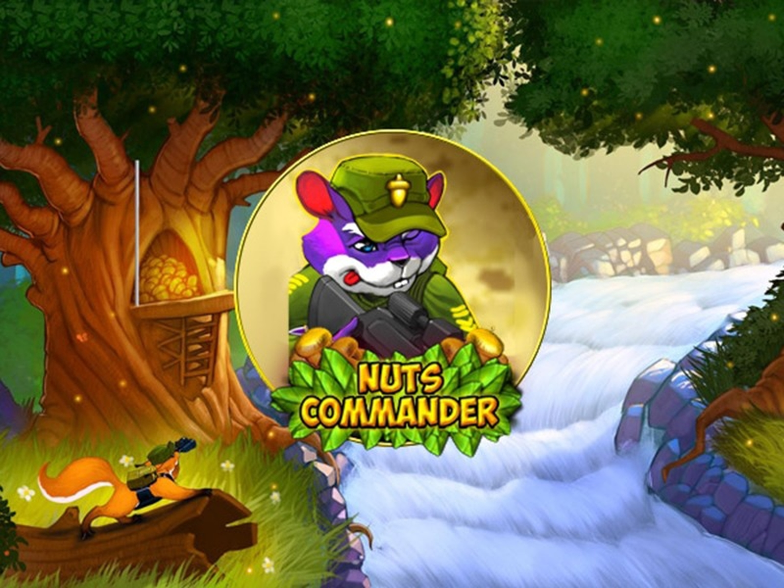 The Nuts Commander Online Slot Demo Game by Spinomenal